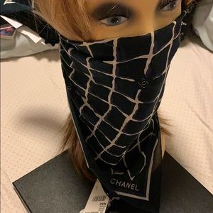 """CHANEL Other - Authentic Chanel brand new bandanna cc allover 24"""""""